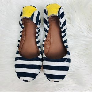 Lucky Brand • Womens Striped Ballet Flat Shoes